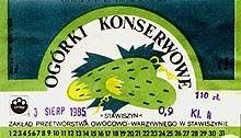ogorki konserwowe