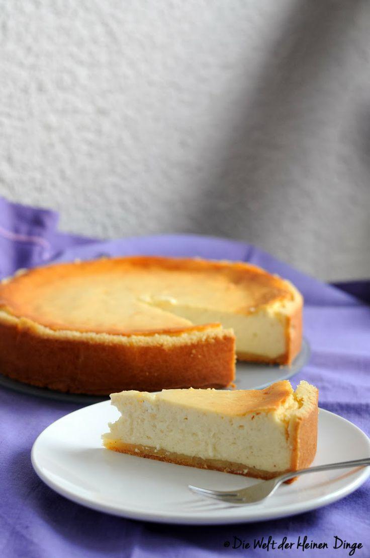 Die Welt der kleinen Dinge: Käsekuchen für #ichbacksmir und Vorfreude