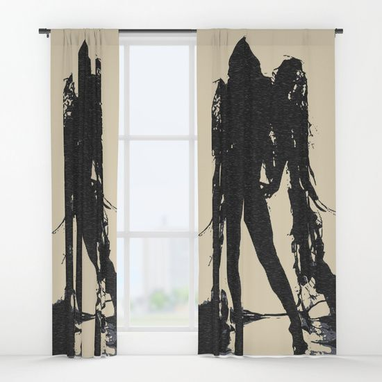 "20% Off + Free Worldwide Shipping - Ends Tonight at Midnight PT! Your drapes don't have to be so drab. Our awesome Window Curtains transform a neglected essential into an awesome statement piece. They're crafted with 100% lightweight polyester, and thick enough to block out some light. Position the curtain rod into the 4"" pocket and you're good to go. All curtains are a single-sided print and measure 50"" x 84"". Available in single or double panel options. Machine wash cold (no bleach!) and…"