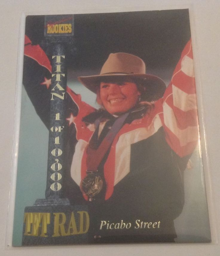 Picabo Street 1994 Signature Rookies USA Olympics Special Insert Card #USAOlympicTeam