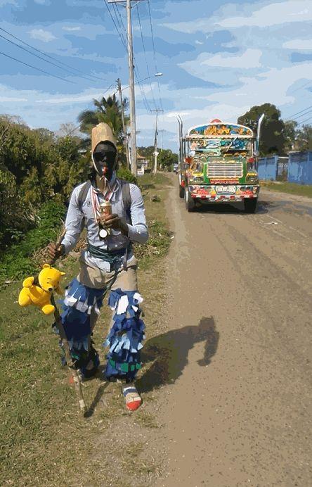Resbalosos en la provincia de Colón #Panamá #Carnaval - @HIMGPanama