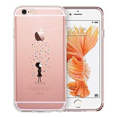 iPhone 6 / 6S Hülle (4,7 Zoll), ESR® Mania Series Transparent Weiche Silikon Schutzhülle TPU Bumper Case für iPhone 6/6S (Regenbogen):Amazon.de:Elektronik