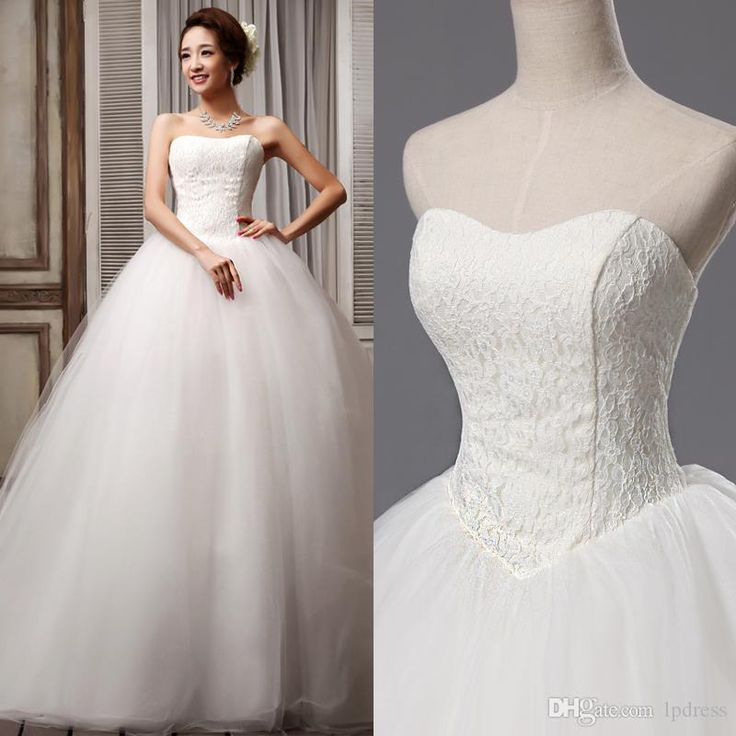 Court Train Ball Gown Wedding Dresses Sweetheart Lace Top Lace-up Back Tulle with Applique Edge Plus Size Custom Made Bridal Gowns Cheap Wedding Dresses Wedding Gowns Plus Size Wedding Dresses Online with $169.0/Piece on Lpdress's Store | DHgate.com