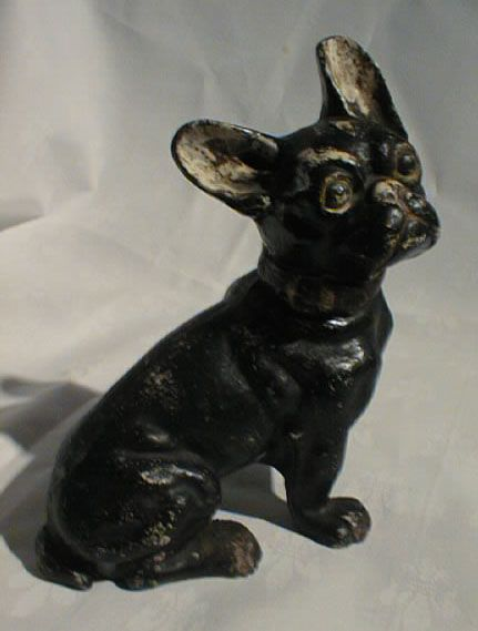 Old French bull dog cast iron door stop 1890 - 73 Best Cast Iron Door Stops-dogs Images On Pinterest Figurines