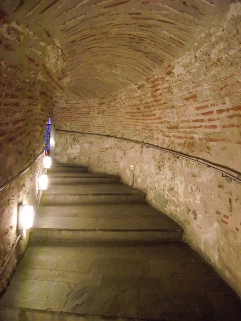 TRAVEL'IN GREECE I Thessaloniki, White Tower - Stairs, #travelingreece
