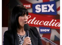 Anna Richardson in The Sex Education Show