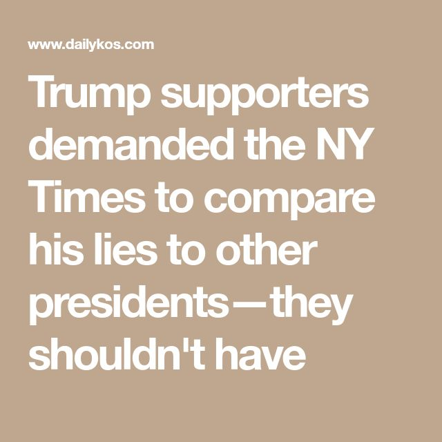 Opinion  Trumps Lies vs Obamas  The New York Times