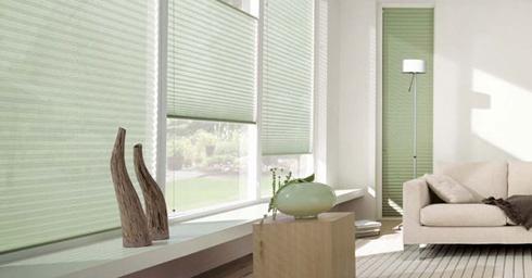 Luxaflex - plisse shades