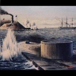 an analysis of the battle between the uss monitor and the css merrimack In just one day, the ironclad—rechristened the css virginia—sank two ships (the   the battle between the two ironclads raged for more than five hours.