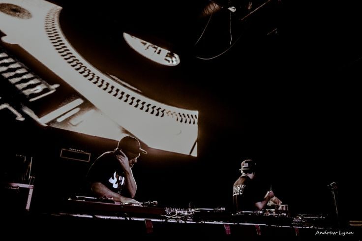 DJ Shadow and Cut Chemist give hip-hop enthusiasts a lesson in the genre during their performance at Encore Nightclub on..