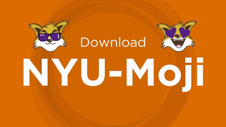 """Get ready to share your #VioletPride! Download the new NYU-Moji keyboard and share NYU-themed emojis with your friends and family—just search """"NYU-Moji"""" in the App Store and Google Play."""