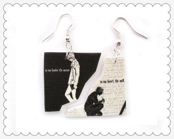 Death Note Accessories Ying & Yang by accessoriesbysisi on Etsy, $5.99