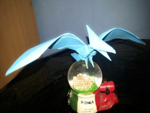 Origami Pterodactyl