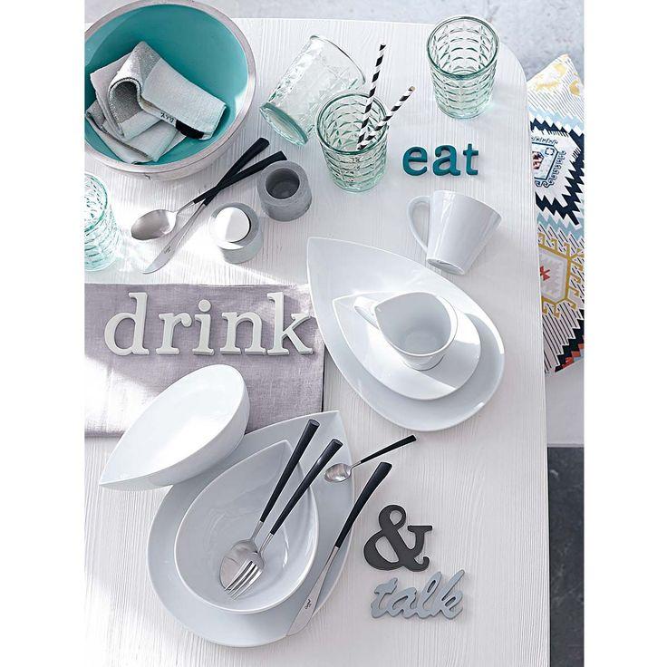 eat, drink & talk. #tischleindeckdich #service #porzellan