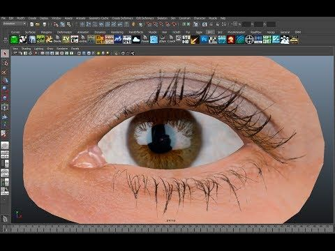 ▶ Realistic Eyeball Rigging in Maya (눈알 리깅하기) - YouTube