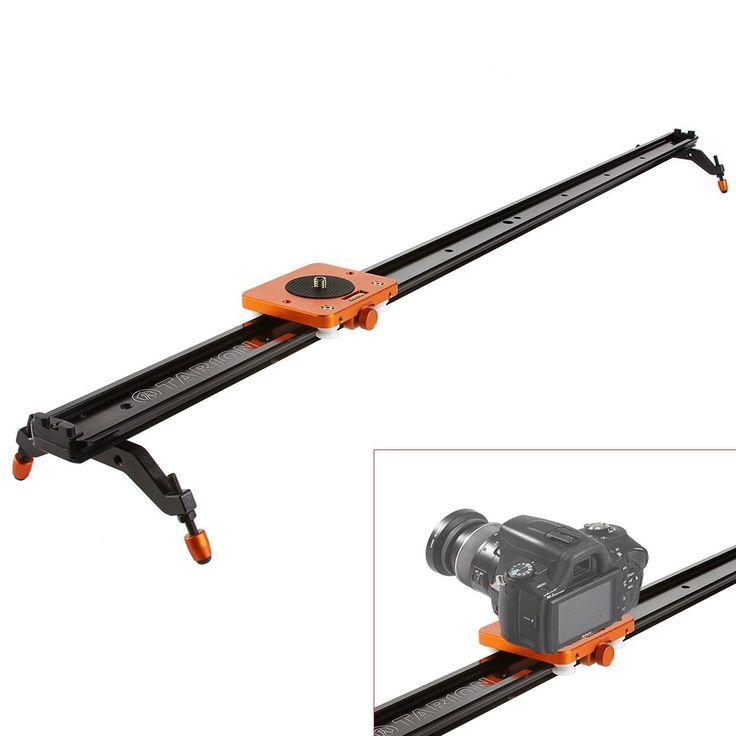 TARION TR-S120 120cm Dolly Slider Curseur Rail coulissant professionnel pour DSLR caméra caméscope jusqu'à 5kg: Amazon.fr: Photo & Caméscopes
