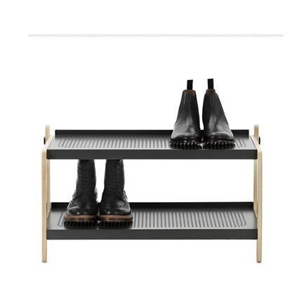 Shoe Rack, dark grey, Simon Legald, Normann Copenhagen