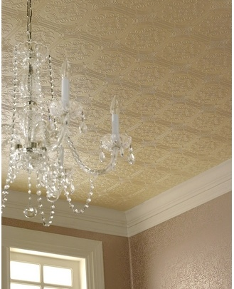 19 best paintable wallpaper images on pinterest - Textured wallpaper on ceiling ...