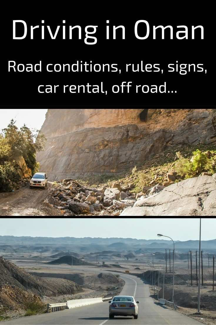 Your guide to driving in Oman - all you need to know to rent a car, respect the rules, drive off road... includes a video to show you what tot expect!