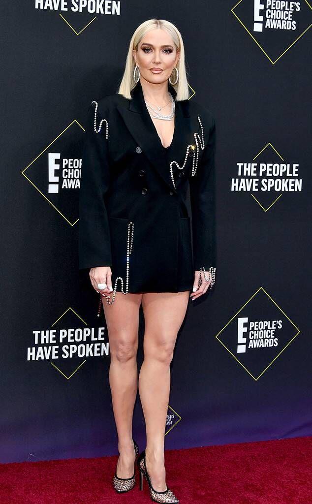 Erika Jayne from People's Choice Awards 2019: Red Carpet Fashion   Red  carpet fashion, Fashion, People's choice awards