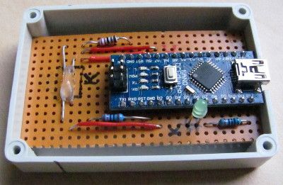 Stromzähler mit Reflexlichtschranke und UNO  auslesen