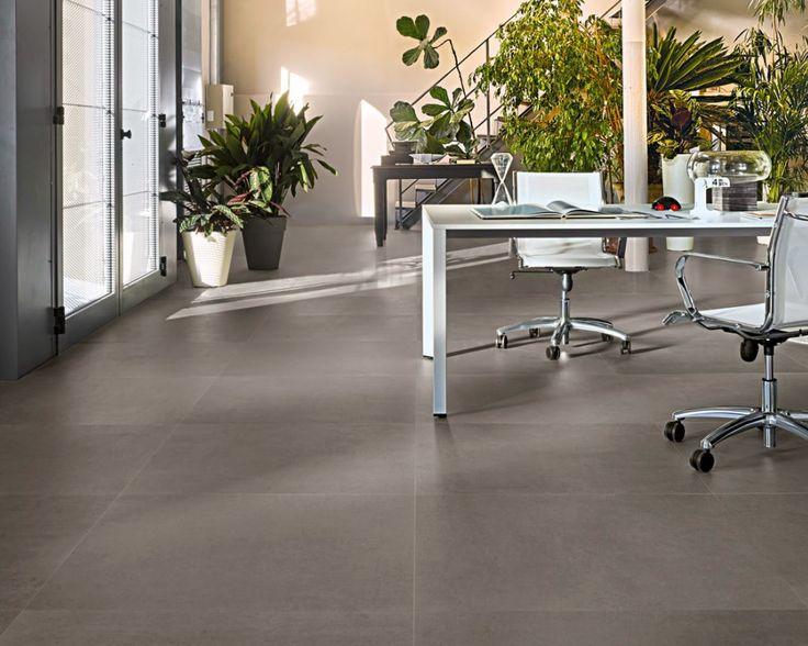 Mooie rustige betonlook met originele patronen en matte of zijdeglans  afwerking. Een eigentijdse sfeer die passend is voor vele omgevingen. Verkrijgbaar in 60x60, 30x60 en 90x90 (04-CO-04) Tegelhuys