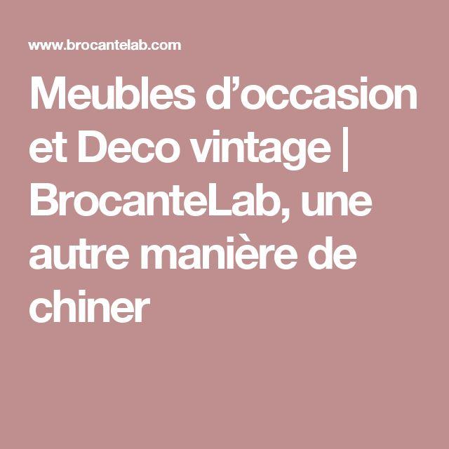 Meubles d occasion et Deco vintage