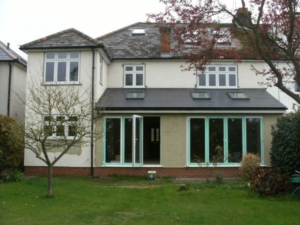 Image result for two storey extensions 1930s semi