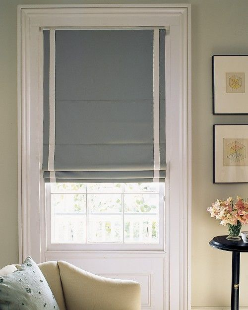 Making a Classic Roman Shade - Martha Stewart DIY Decorating. My cats love shoving their little faces between the mini blinds (thus bending and breaking the blinds), so these (made of strong fabric) might be a solution.
