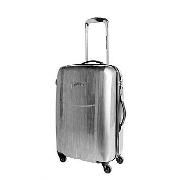Trolley Bags & Suitcases - Briscoes - American Tourister Spinner Trolleycase Chrome