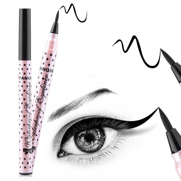 Imperméable Noir Eyeliner Liquide Eye-Liner Crayon Pen Maquillage Haute Qualité Comestics Drop Shipping Cosmétique 3 Style Choisir