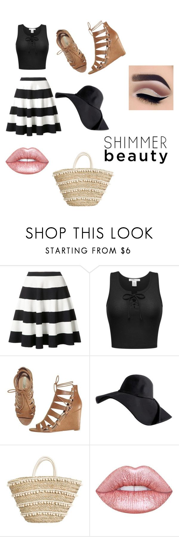 """""""Boardwalk Outfit"""" by merylrs ❤ liked on Polyvore featuring Akris Punto, Avon and Lime Crime"""