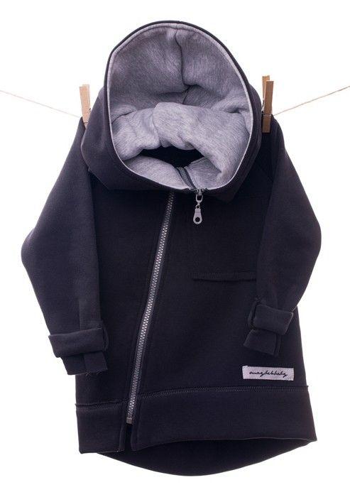 Hoodie Coat - Ocieplana bluza z kapturem. Bluza zapinana na zamek z ciepłym kapturem.