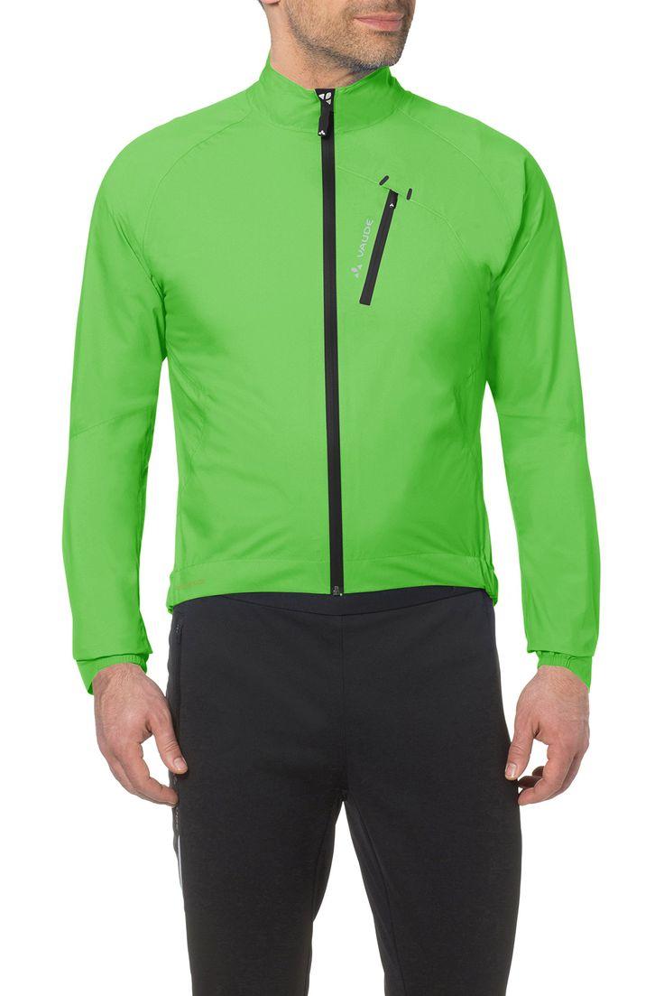 Vaude Jacke Men's Sky Fly Jacket II - Chubasquero de ciclismo para hombre, color verde, talla M