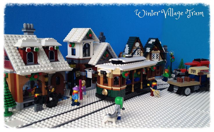 lego winter village post office instructions