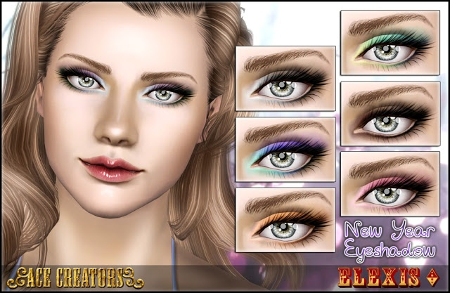 Ace Creators-New Year Eyeshadow by Elexis. Just Gorgeous :)