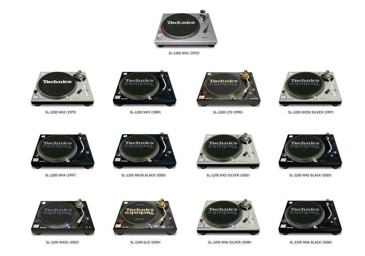 #Technics 1200 #Turntable #History