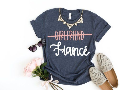 62c7b0b95 Girlfriend Fiance Svg   Engagement Shirt Svg. Engagement Gift. Engagement  Announcement. Wedding Svg. Future Mrs. I Said Yes. Bachelorette