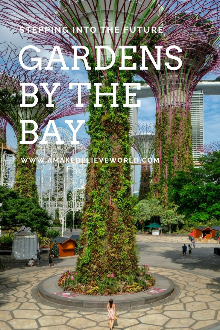 Gardens by the Bay is like stepping into the future right here in Singapore, with supertrees covered in fairy lights and conservatories with some epic exhibits.