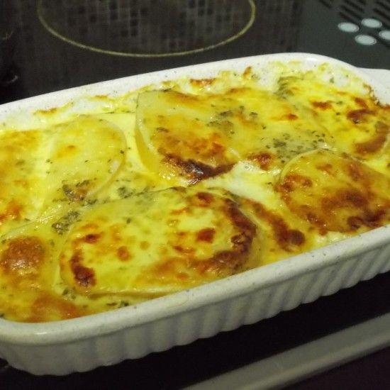 Garlic & Herb Potato Bake