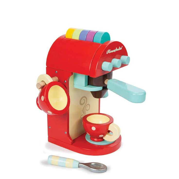 Chococcino Machine Coffee - Le Toy Van for sale by Little Shop of Treasures. Other Le Toy Van available now at LSOT.