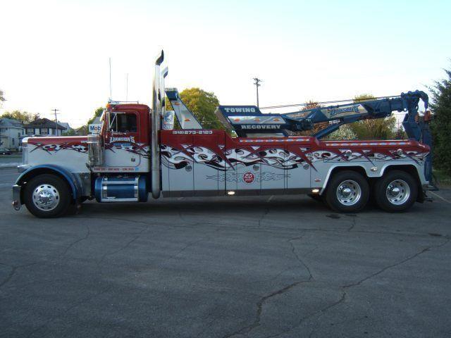 Peterbilt Heavy Duty Tow Trucks 2003 Used Peterbilt 379 Heavy