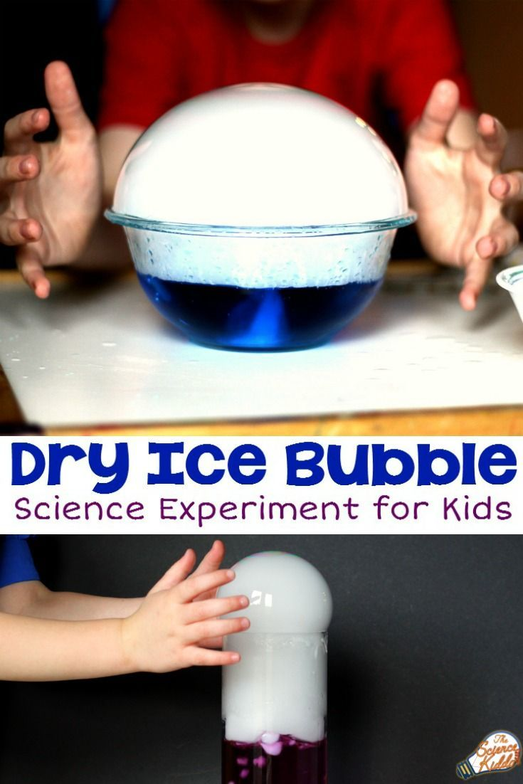 18 best dry ice experiments for kids images on pinterest science giant dry ice bubble crystal ball robcynllc Gallery