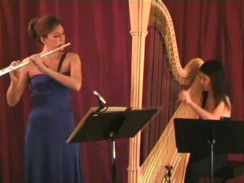Claude Debussy - Bruyeres, Performed by Kadence Duo