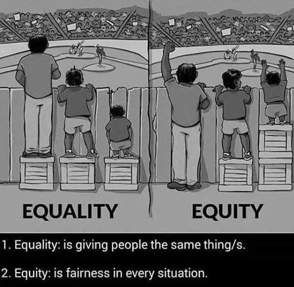"Korreltjezout on Twitter: ""Equality | Equity 😀 https://t.co/1I4LLOavzj"""
