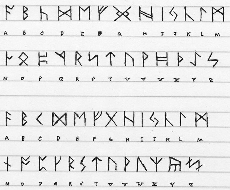 Best 25 norse alphabet ideas on pinterest - Rune viking traduction ...