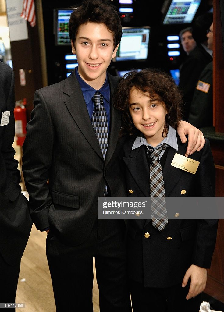 News Photo : Nat Wolff and Alex Wolff of The Naked Brothers.