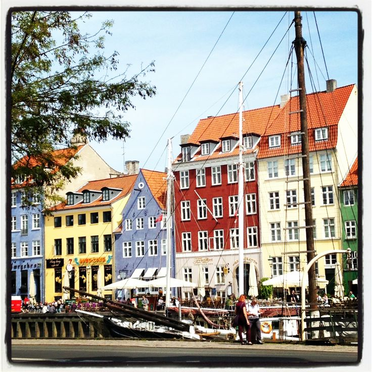 Copenhagen's canal view