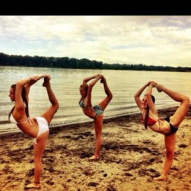 beach dancers!