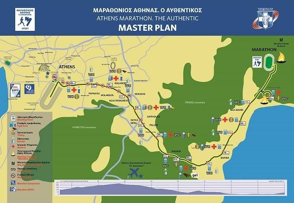 The Classical Marathon route...from the village of Marathon till centre Athens. Celebrating more than 2500 years! The marathon takes place every first week of November. More pictures at:https://www.facebook.com/media/set/?set=a.1095701997130015.1073741870.113515072015384&type=3
